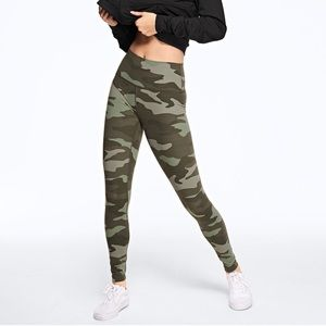 VS PINK ULTIMATE HIGH WAIST CAMO LEGGING